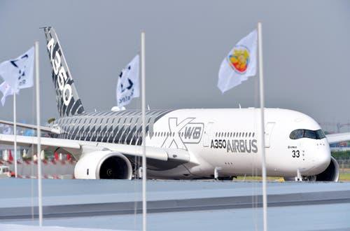 Ein Airbus A350 XWB Flugzeug. (Bild: PACSAL PIGEYRE / MASTERFILMS)