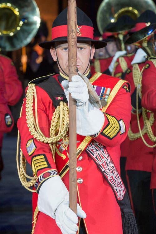The New Zealand Army Band. (Bild: Keystone / Patrick Staub)