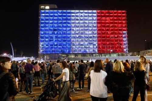 Die Stadtverwaltung von Tel Aviv. (Bild: EPA/ABIR SULTAN)