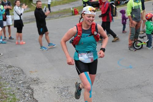 Sophie Andrey ist Siegerin des Ultra. (Bild: Roger Zbinden (Neue LZ))
