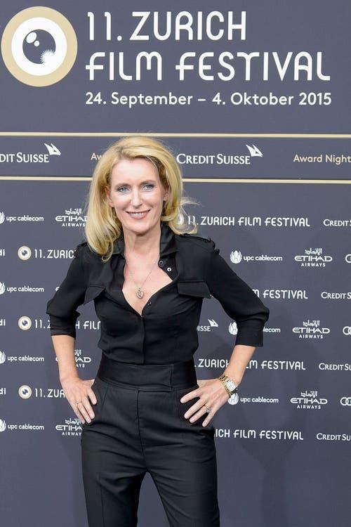 Maria Furtwängler am 3. Oktober 2015 am Zurich Film Festival. (Bild: Keystone)