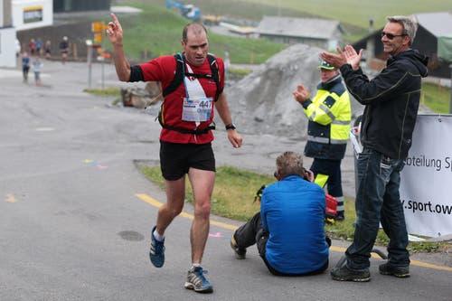 Sieger des Marathons ist Christoph Schnider. (Bild: Roger Zbinden (Neue LZ))