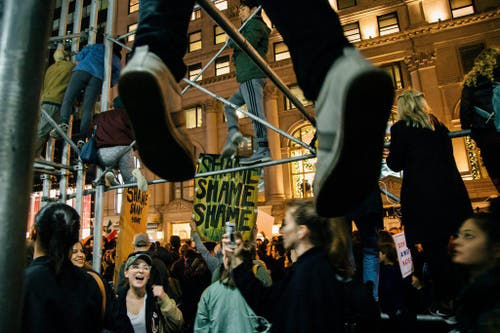 US Presidential Election.. Protest (Bild: Keystone)