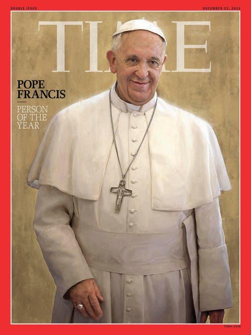 ...und wird vom Time-Magazin zur Person des Jahres 2013 gekürt. (Bild: Keystone)