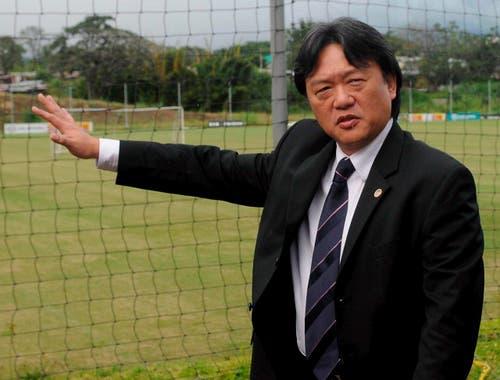 Verhaftet: Eduardo Li in San Jose, Verbandspräsident von Costa Rica. (Bild: EPA/Jeffrey Arguedas)