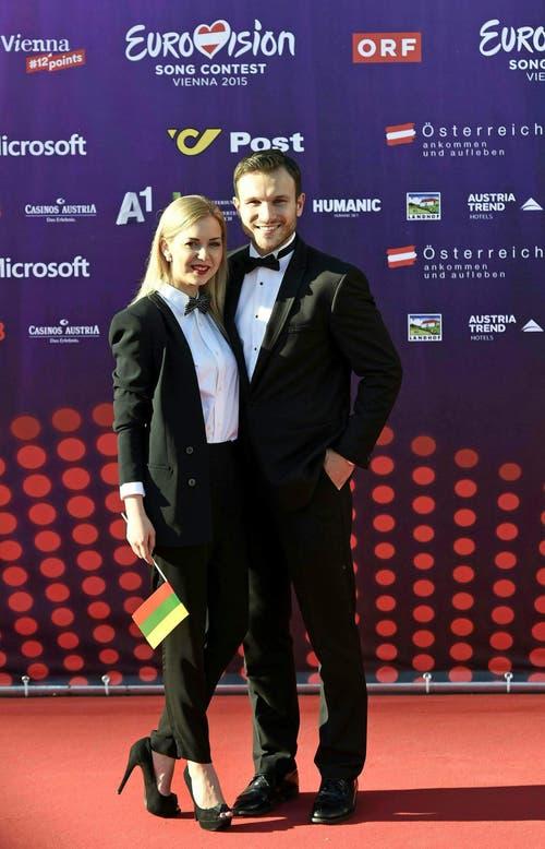 Monika Linkyte und Vaidas Baumila, Litauen. (Bild: Keystone)