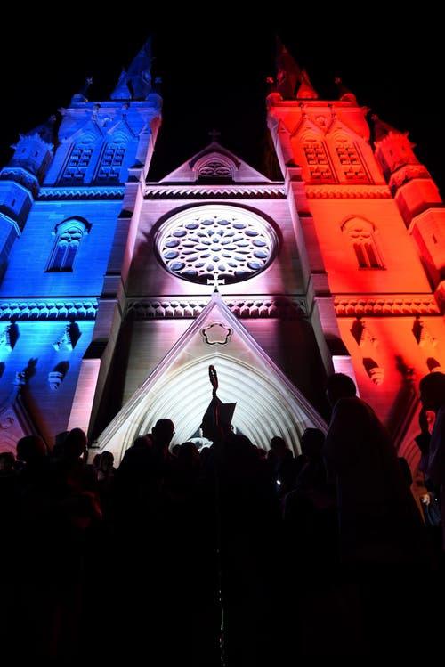 Die St Mary's-Katedrale ijn Sydney. (Bild: EPA/PAUL MILLER)