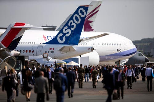 Die Air Show Paris dauert vom 15. bis am 21. Juni. (Bild: ETIENNE LAURENT)