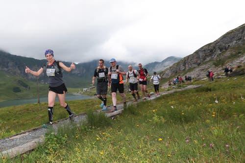 47 Wettkämpfer nahmen am Marathon teil. (Bild: Roger Zbinden (Neue LZ))