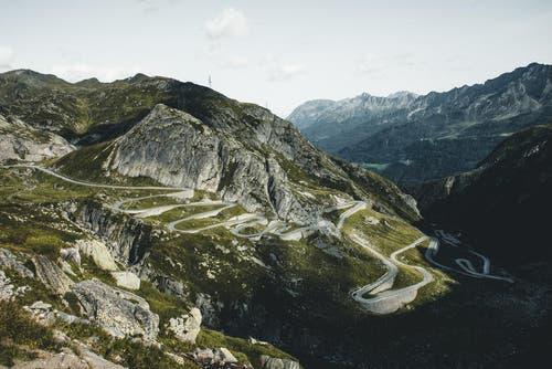 Die alte Gotthardstrasse (Tremola). (Bild: PD / Silvan Widmer)