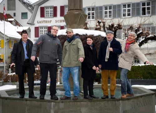 St. Gallen - Organisatoren Stadtfest Aufgetischt (Bild: Ralph Ribi)
