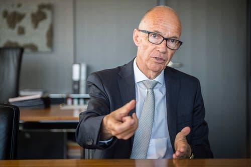 Thomas Scheitlin (FDP), St.Gallen, 100%-Pensum, 100%-Lohn = 262'964 Franken. (Bild: Urs Bucher)