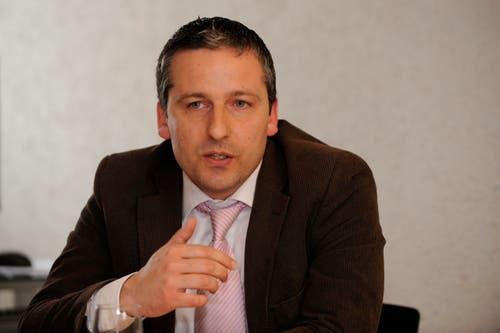 Dominik Gemperli (CVP), Goldach, 100%-Pensum, 100%-Lohn = 190'000 Franken. (Bild: Urs Bucher)