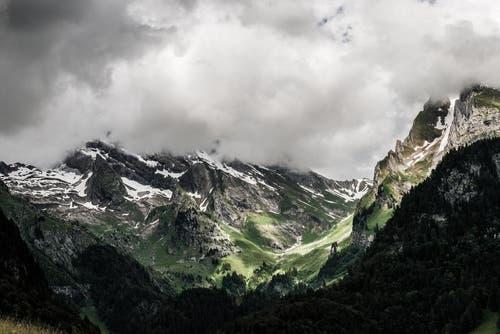 Sicht im Obertoggenburg auf den Säntis und Rotsteinpass. (Bild: PD / Silvan Widmer)