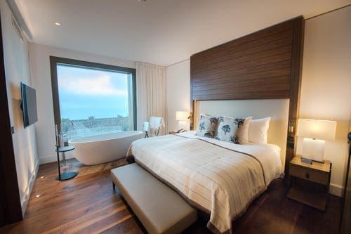 Ein Zimmer im Bürgenstock-Hotel (Bild: Eveline Beerkircher)