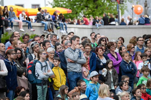 St. Gallen - Aufgetischt mit 80 Künstlern (Bild: Ralph Ribi)