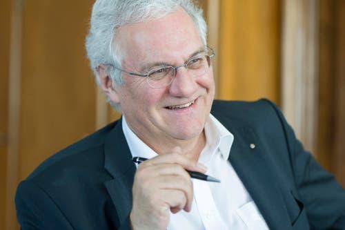 Thomas Müller (SVP), Rorschach, 100%-Pensum, 100%-Lohn = 212'607 Franken. (Bild: Benjamin Manser)