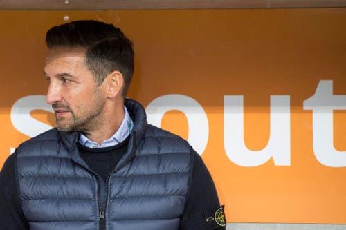 Joe Zinnbauer während der jüngsten Pleite seines Teams beim FC Luzern. (Bild: URS FLUEELER (KEYSTONE))