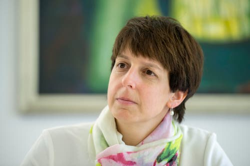 Susanne Hartmann (CVP), Wil, 100%-Pensum, 100%-Lohn = 231'678 Franken. (Bild: Urs Bucher)