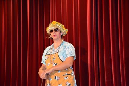 Auch Comedy gehörte zum Rahmenprogramm der Jubiläumsfeier. (Bild: Beat Lanzendorfer)