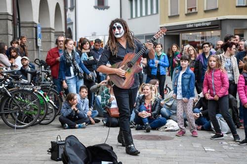 St. Gallen - Aufgetischt mit 80 Künstlern Im Bild Kallidad (Bild: Ralph Ribi)