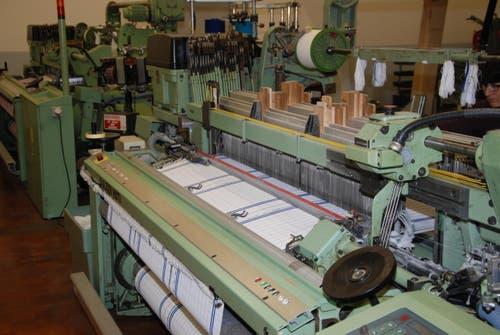 Bereits jetzt werden in Bütschwil Küchtentücher hergestellt. (Bild: Ruben Schönenberger)