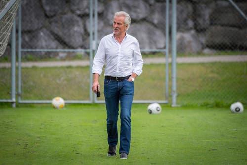 Fussball Super League - Training FC St. Gallen (Bild: Urs Bucher)