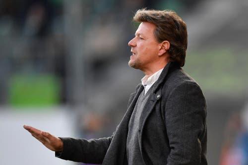 Thuns Trainer Jeff Saibene war auch Mal Trainer in St.Gallen. (Bild: Keystone)