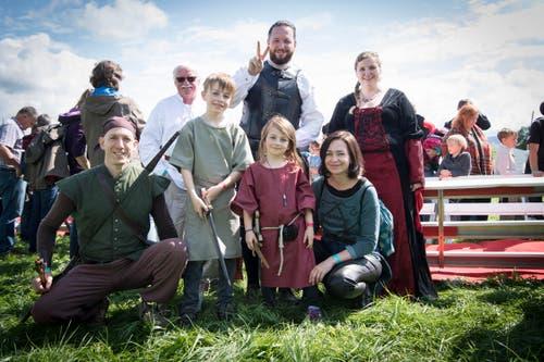 Abtwil - Appowila Highland Games Stimmung am Sonntag (Bild: Ralph Ribi)