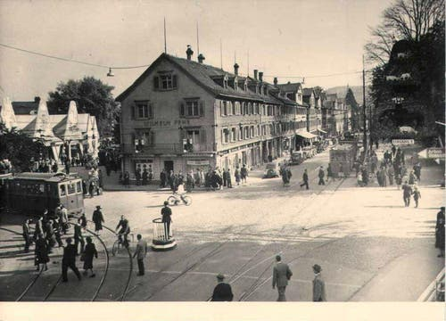 Rorschacherstrasse/Brühltor (1949) (Bild: Stadtarchiv der Ortsbürgergemeinde St.Gallen)