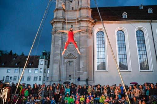 St. Gallen - Aufgetischt mit 80 Künstlern Im Bild Zirkus Gonzo (Bild: Ralph Ribi)