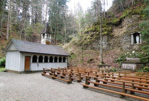 Vom Bräker-Dorf zur Lourdes-Grotte (Bild: Daniel Klingenberg)