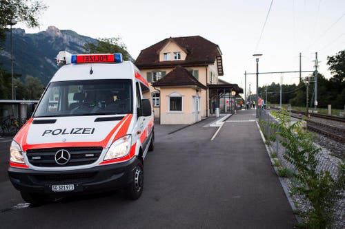 Attack on train in Switzerland (Bild: Keystone)