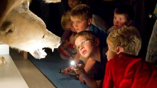 Kinder und Jugendliche hatten gratis Zutritt zu den Museen. (Bild: Michel Canonica)