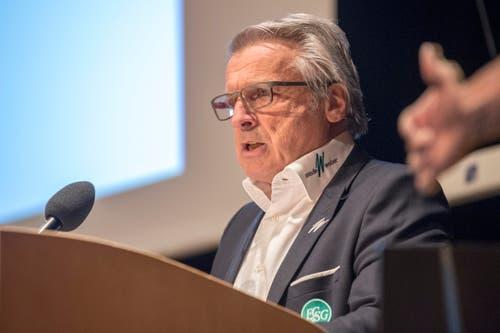 Der zurückgetretene Verwaltungsrat Martin Schönenberger. (Bild: Urs Bucher)