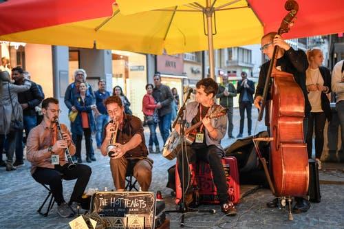St. Gallen - Aufgetischt mit 80 Künstlern Im Bild Yanac (Bild: Ralph Ribi)