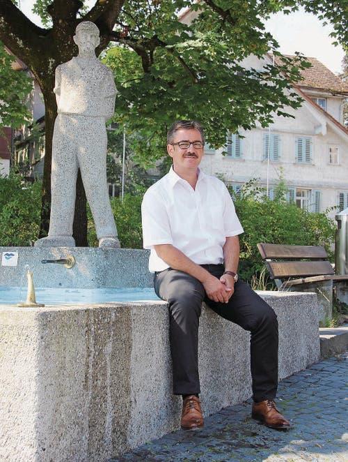 Robert Raths (FDP), Thal, 100%-Pensum, 100%-Lohn =206'191 Franken. (Bild: Linda Müntener)