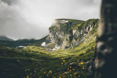 Der Selun, umgeben von Wolken. (Bild: PD / Silvan Widmer)