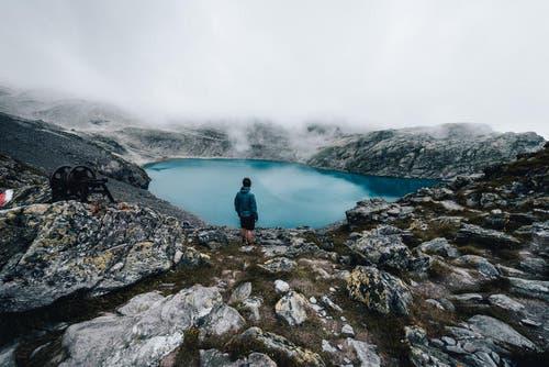 Der Wildsee im Pizol bei garstigen Bedingungen. (Bild: PD / Silvan Widmer)