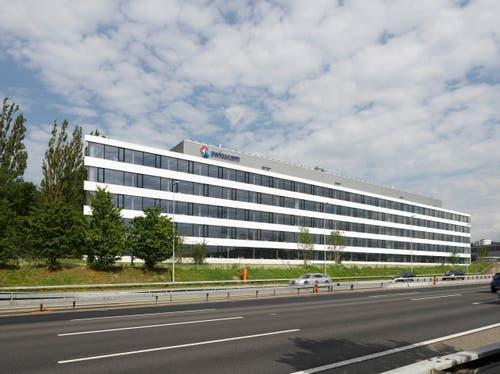 Der Swisscom Businesspark Ittigen wird mit Klimasystemen der Erich Keller AG klimatisiert. In punkto Energieeffizienz, Lebensqualität für Mitarbeitende und Wirtschaftlichkeit ist der Businesspark eines der fünf besten Gebäude in ganz Europa. Er wurde mit dem Watt d'Or Preis 2016 ausgezeichnet. (Bild: PD)
