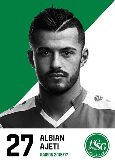 Albian Ajeti: Note 3: Ist sehr bemüht, als einzige Sturmspitze aber sehr gut abgeschirmt von der Luzerner Verteidigung. Hat eine einzige Abschlusschance in der ersten Halbzeit, dabei rutscht ihm der Ball aber über den Rist. (Bild: pd)