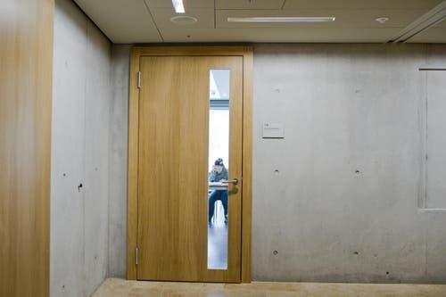 Spannende Einsichten in einen Vorlesungsraum. (Bild: Coralie Wenger)
