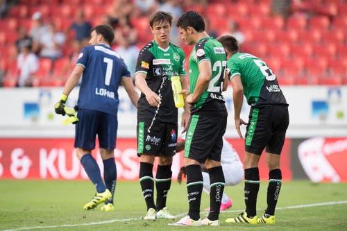 Zweites Saisonspiel, zweite Niederlage: 1:2 in Sion am 30. Juli 2016. (Bild: JEAN-CHRISTOPHE BOTT (KEYSTONE))