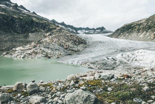 Der Rhone-Gletscher im Wallis. (Bild: PD / Silvan Widmer)
