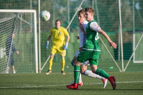 FC St. Gallen im Trainingslager in SŸdspanien.Testspiel: FC Dynamo Kiew gegen FC St. Gallen (Bild: Urs Bucher)