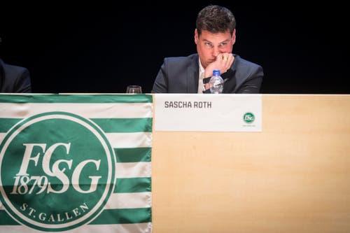 Nachdenklich: Finanzchef Sascha Roth. (Bild: Urs Bucher)