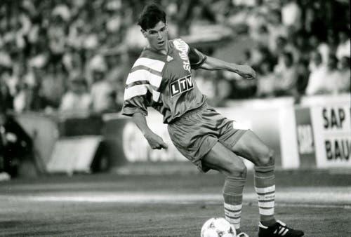 Mario Frick wechselte im Sommer 1996 vom FC St.Gallen zum FC Basel. Der damals 21-jährige Liechtensteiner kostete die Bebbis damals 220'000 Franken. 15 Jahre später kehrte Frick zurück in die Ostschweiz - mit überschaubarem Erfolg. (Bild: Ralph Ribi)