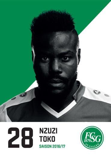 Nzuzi Toko: Note 4: Kämpferisch zeigt Toko eine starke Leistung, ist vor der Abwehr physisch sehr präsent und entschärft viele Luzerner Angriffe schon in der Auslösung. Nach vorne ist von ihm aber weniger zu sehen als noch vor einigen Wochen. (Bild: pd)