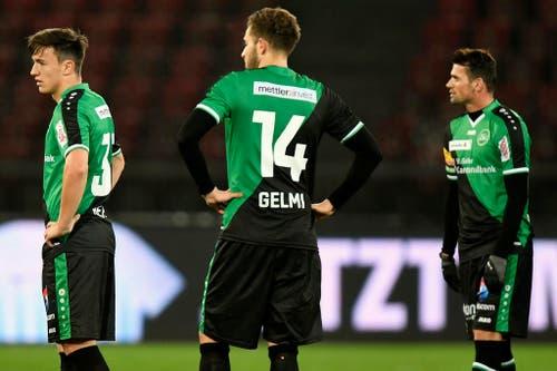 """27. Oktober 2016, Cup-Achtelfinal FC Zürich - FCSG 2:1: """"Ich habe noch nie ein Team trainiert, das so schlecht mit Druck umgehen kann. Aber irgendwann wird der Knoten platzen."""" (Bild: WALTER BIERI (KEYSTONE))"""