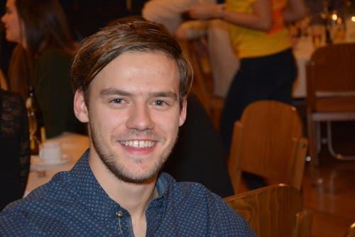 Patrik Brändle: eines der Mitglieder der jüngeren Generation. (Bild: Beat Lanzendorfer)